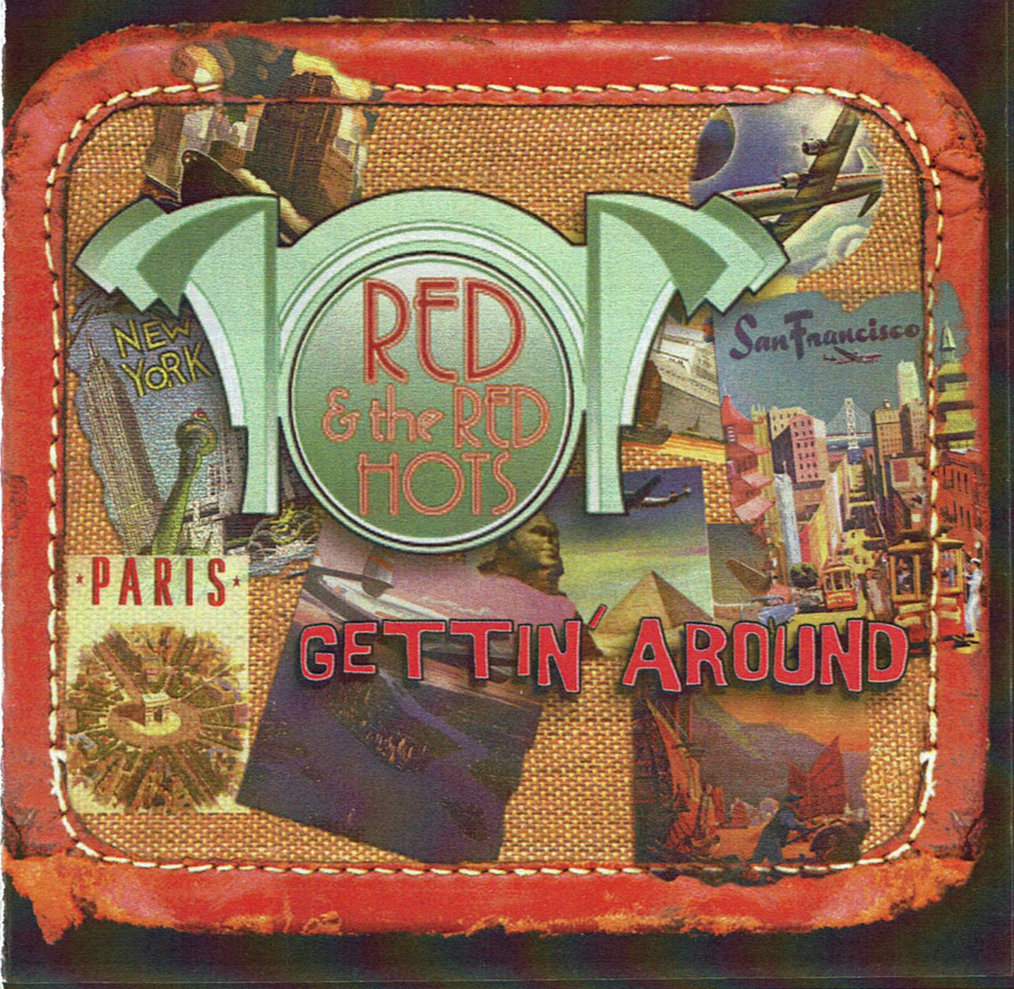 Red & The Red Hots / Gettin' Around * cd & mp3